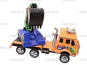 Машинка «Стройка», 163-5495, игрушки