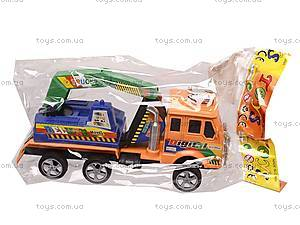 Машинка «Стройка», 163-5495, детские игрушки