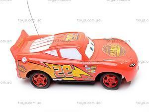 Машинка «Тачки», на радиоуправлении, 8599-F1, игрушки