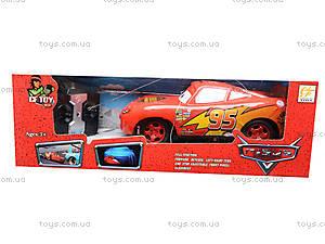 Машинка «Тачки», на радиоуправлении, 8599-F1, детские игрушки
