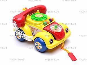 Машинка-телефон, музыкальная, 705