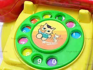 Машинка-телефон, музыкальная, 705, цена