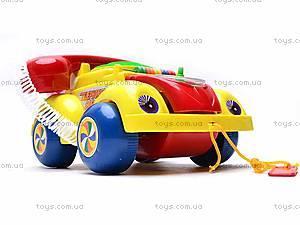 Машинка-телефон, музыкальная, 705, детские игрушки
