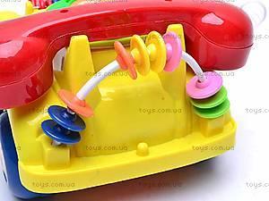 Машинка-телефон, музыкальная, 705, toys.com.ua