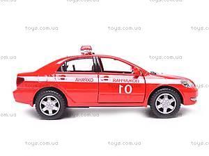Машинка Toyota Corolla «Пожарная», KT5099WR-1