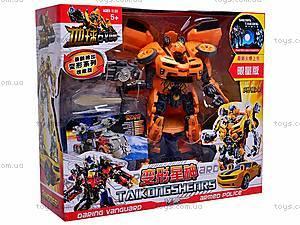 Машинка-трансформер для детей, 8136, цена