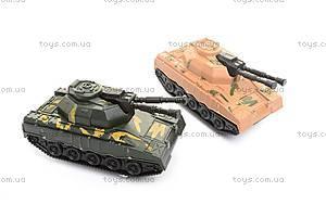 Машинка «Трейлер», с 2 танками, 689-3A, фото