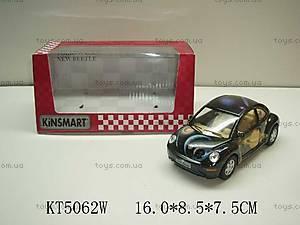 Машинка Volkswagen New Beetle, KT5062W