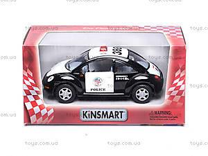 Машинка Volkswagen Police Beetle, KT5028PW