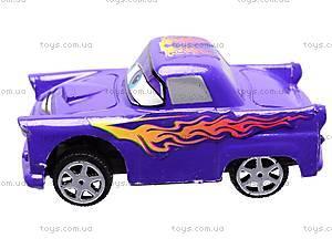 Машинки инерционная для детей «Тачки», 6 видов, 9696, цена