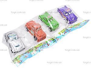 Машинки инерционная для детей «Тачки», 6 видов, 9696
