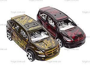 Машинки инерционные, 2 вида, DY26A-5, магазин игрушек