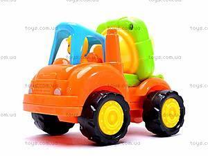Машинки инерционные Стройтехника, 5309A, детские игрушки