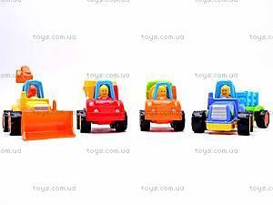 Машинки инерционные Стройтехника, 5309A, магазин игрушек