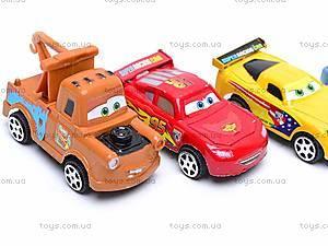 Машинки инерционные «Тачки», 399-3C12, игрушки