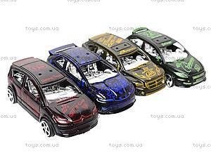 Машинки инерционные в четырех видах, DY26A, детские игрушки