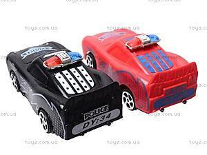 Машинки «Полиция», 4 вида, DY34-6, отзывы