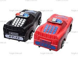 Машинки «Полиция», 4 вида, DY34-6, цена