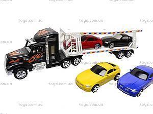 Машинки в трейлере, 9966-1415, отзывы
