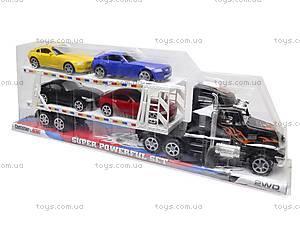 Машинки в трейлере, 9966-1415