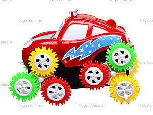 Машина игрушечная «Шестеренки», 1121А, детские игрушки