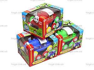 Игрушечный паровоз «Шестеренки», 1123А, игрушки
