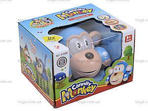 Детская машинка «Обезьяна», 5168В, игрушки