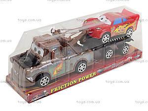 Игрушечный трейлер с машиной «Тачки», 5929, цена