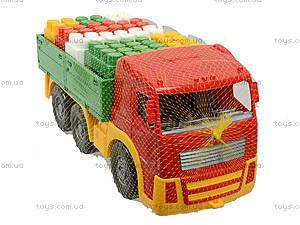 Игрушечный грузовик с набором конструктора «Беби-Блок», 1722, отзывы