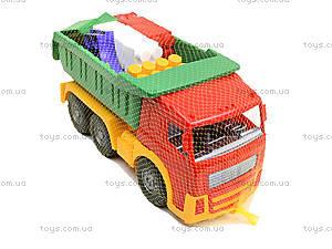 Игрушечный грузовик с набором конструктора, 1753, купить