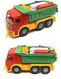 Игрушечный грузовик с набором конструктора, 1753, отзывы