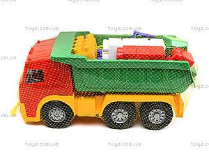 Игрушечный грузовик с набором конструктора, 1753, цена