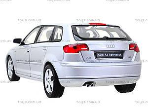 Коллекционная машина Audi A3 Sportback, 22467W, игрушки