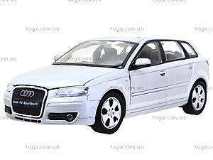 Коллекционная машина Audi A3 Sportback, 22467W, магазин игрушек