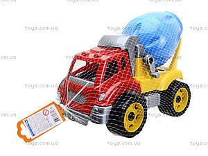 Игрушечная машина «Автомиксер», 3718, детские игрушки