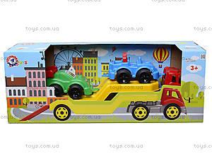 Машина Автовоз с набором машинок, 3909, фото