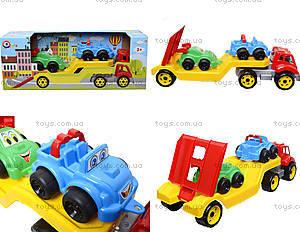 Машина Автовоз с набором машинок, 3909
