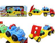 Машина Автовоз с набором машинок, 3909, отзывы