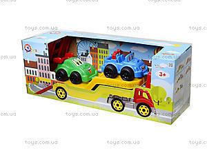 Машина Автовоз с набором машинок, 3909, цена