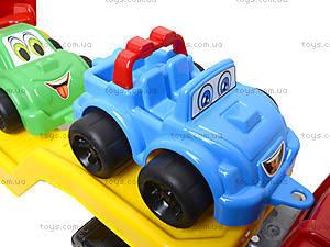 Машина Автовоз с набором машинок, 3909, игрушки
