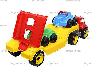 Машина Автовоз с набором машинок, 3909, детские игрушки