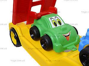 Машина Автовоз с набором машинок, 3909, магазин игрушек