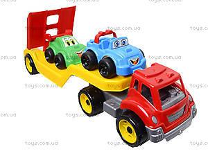Машина Автовоз с набором машинок, 3909, toys.com.ua