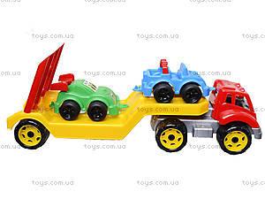 Машина Автовоз с набором машинок, 3909, toys