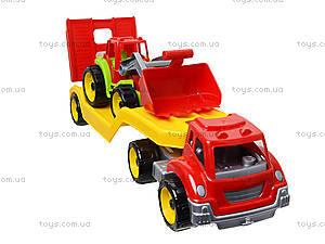 Игрушечный автовоз с трактором, 3916, цена