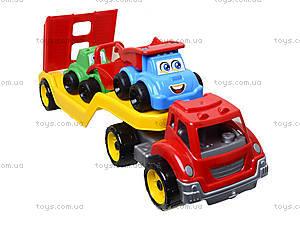 Машина «Автовоз» со стройплощадкой, 3930, купить