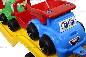 Машина «Автовоз» со стройплощадкой, 3930, фото