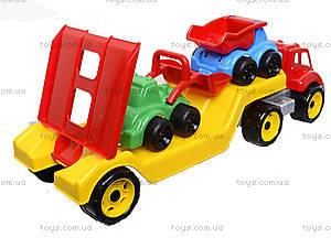 Машина «Автовоз» со стройплощадкой, 3930, отзывы