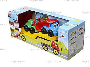 Машина «Автовоз» со стройплощадкой, 3930, цена