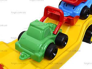 Машина «Автовоз» со стройплощадкой, 3930, игрушки